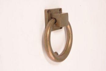 Deurklopper Brons antiek 114mm