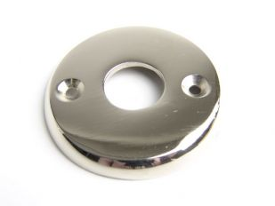 Rozet rond voor deurkruk nikkel, geborsteld nikkel of chroom