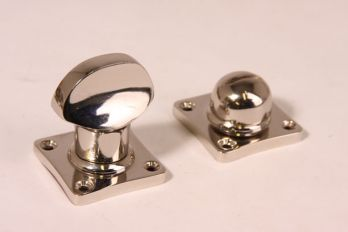 WC sluiting ton model blinkend nikkel (of chroom)