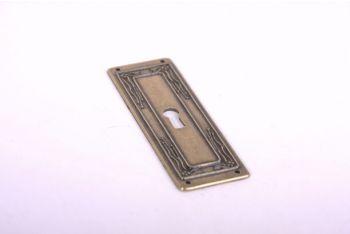 sleutelplaat Brons Antiek 33 mm (zamac)