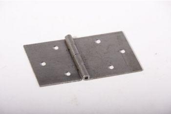 Scharnier voor klepbank ijzer blank onafgewerkt 86mm x 50mm.