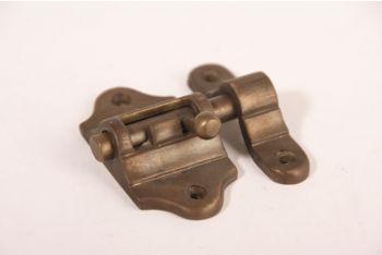 Schuif Brons Antiek 30mm met aanslag