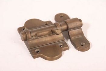 Schuif Brons Antiek 50mm met aanslag