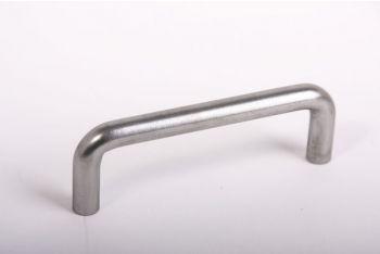 Greep metaal grijs 10mm rond 96mm
