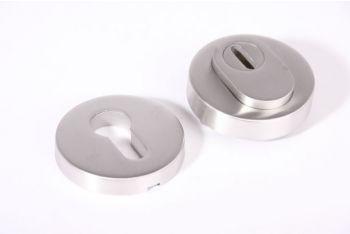SKG*** profiel-cilinderrozet met kerntrek RVS