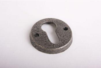 Cilinderrozet rond 50mm oud grijs voor profiel cilinderslot