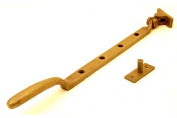 Raamuitzetter Dudok brons antiek 320mm - 8mm
