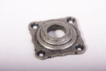 Rozet zilver antiek 42mm