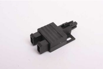 Verdeelblokje splitter voor inbouw spots 12V zwart