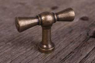 Brons antieke kraanknop met unieke kleur