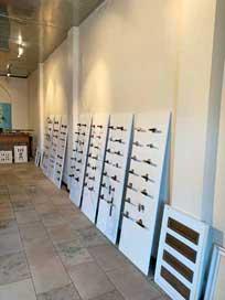 Showroom Interieurbeslag met deurbeslag en deurkrukken