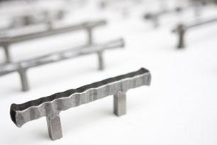 keukenbeslag grepen metaal grijs